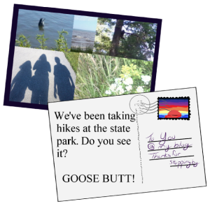 "One of my not so brilliant last summer post ideas was ""postcards"" like this one."