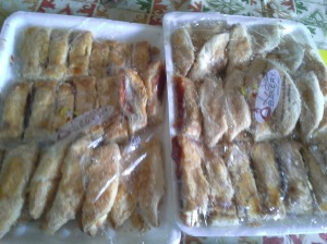 My (mostly now gone) Cuban pastries!!!